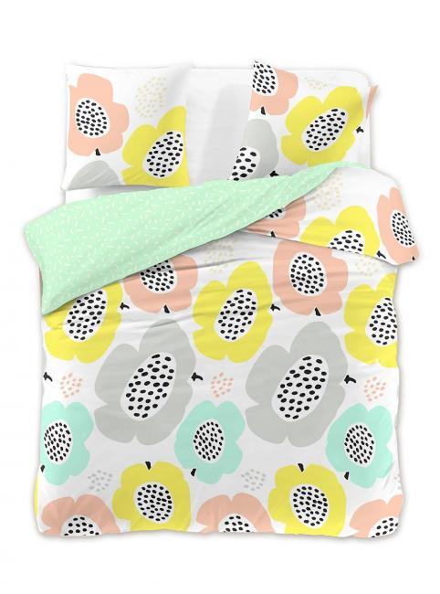 DecoKing - Pościel z bawełny 100%, pastelowa, wzory, różne rozmiary