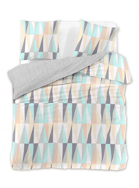 DecoKing - Pościel z bawełny 100%, kolorowa, wzory geometryczne, różne wymiary