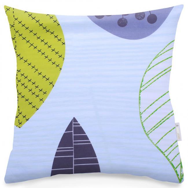 DecoKing - Poszewka z bawełny, pastelowa, 40x40 - 2 sztuki