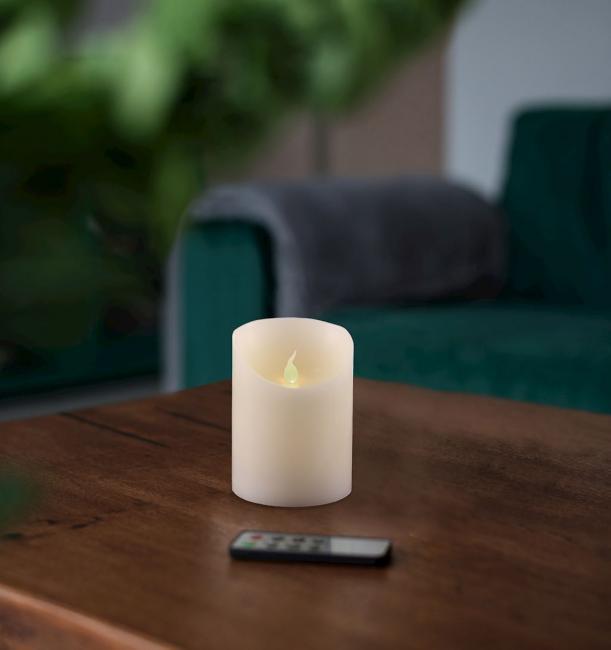 Świeczka LED, parafina - 10 cm
