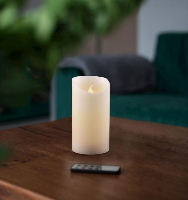 Świeczka LED, parafina - 12,5cm
