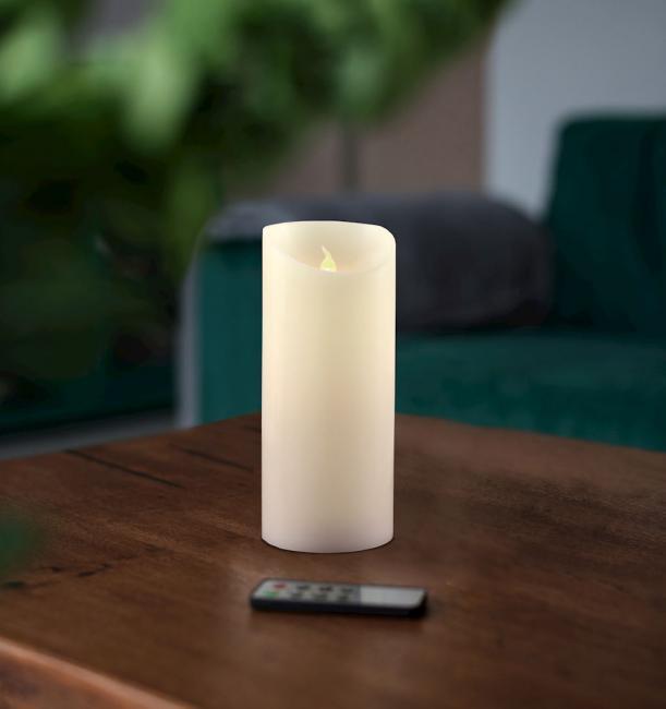 Świeczka LED, parafina - 15cm