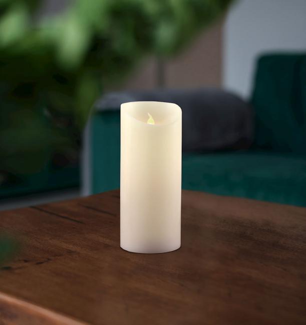 Świeczka LED, parafina - 15 cm