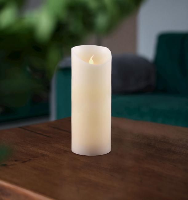 Świeczka LED, parafina - 20 cm