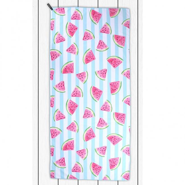 DecoKing - Ręcznik plażowy 80x180cm WATERMELON