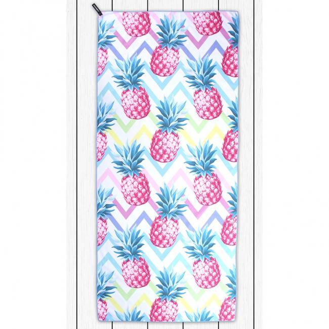 DecoKing - Ręcznik plażowy 80x180cm COCONUT