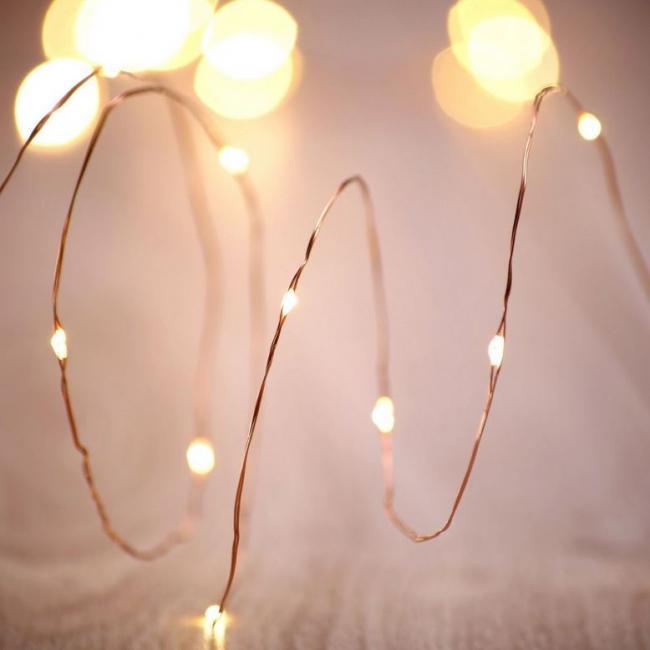 DecoKing - Girlanda dekoracyjna LED, TOP zestaw 2 sztuki - 60 diod - 6,3m - PILOT
