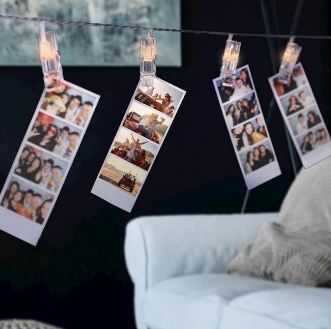 DecoKing - Dekoracyjne klipsy LED na zdjęcia