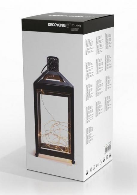DecoKing - Ledlantern - latarnia LED