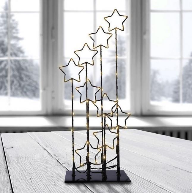 DecoKing - Leddeco - dekoracja LED z gwiazdkami