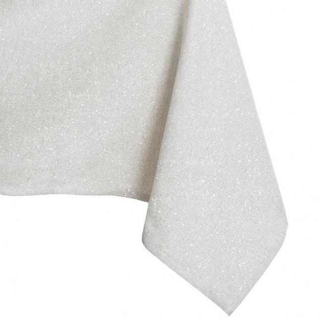DecoKing - Obrus  - różne rozmiary - OWALNY - kremowy