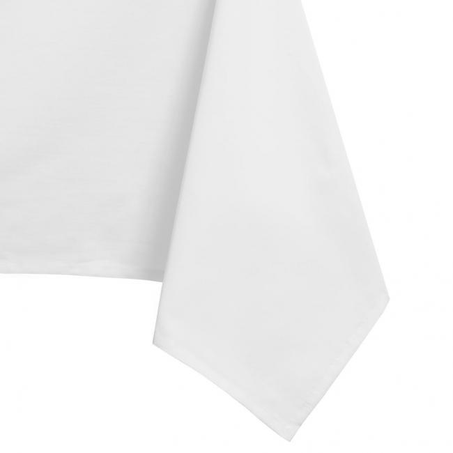 DecoKing - Obrus - OWALNY - biały - różne rozmiary
