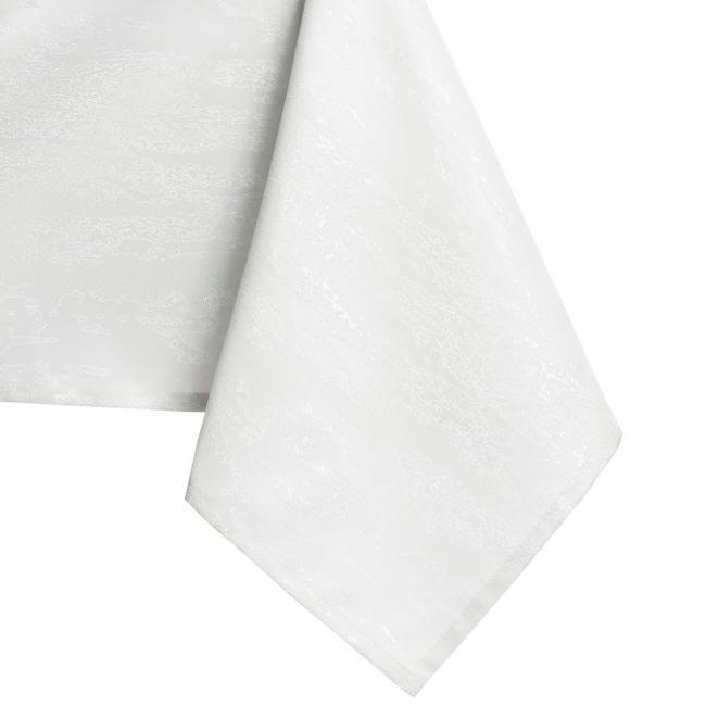 AmeliaHome - Obrus - PROSTOKĄT - biały - wzór wężowy - różne rozmiary