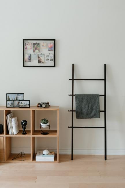 Ramka na zdjęcia ze sznurkiem  - kolor czarny