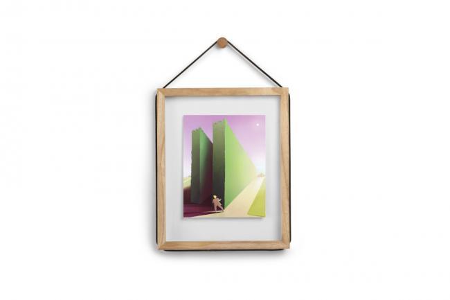 Ramka na zdjęcia  - kolor naturalne drewno