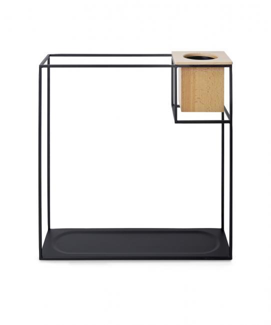 Półka z miejscem na doniczkę