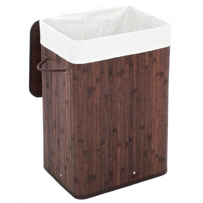 Kosz na rzeczy do prania, bambus