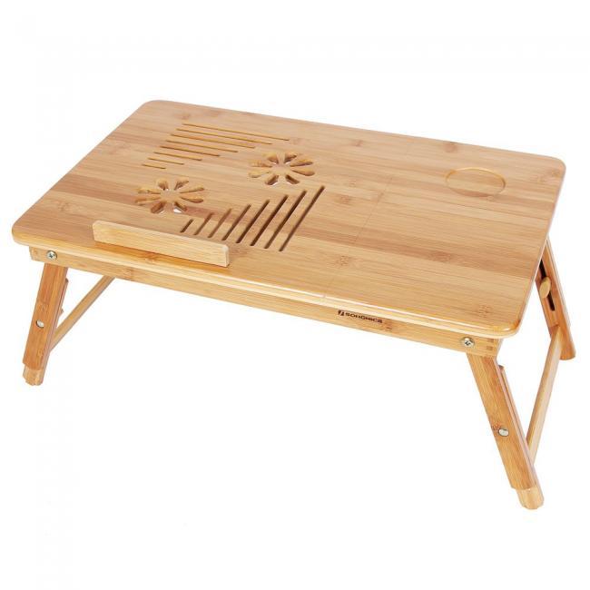 Stolik - podstawka bambusowa pod laptopa
