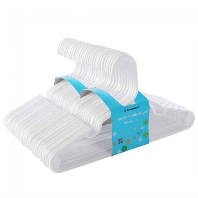 Plastikowe wieszaki - 30 sztuk