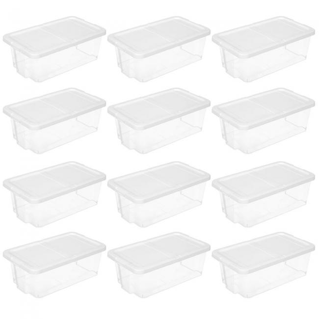 Plastikowe pudełko na buty - 12 części