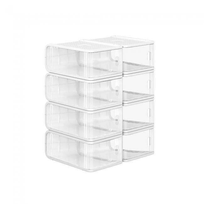 Plastikowe pudełko na buty, 25 x 10 x 12 cm