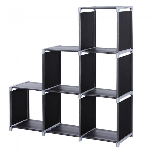 Regał 110 x 32 x 106 cm, czarny