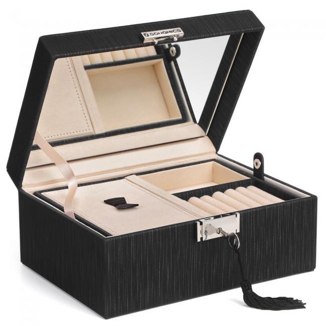 Pudełko z przegródkami na biżuterię