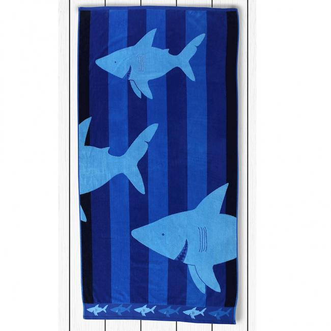 DecoKing - Ręcznik plażowy, 100% bawełny, REKIN, 90X180
