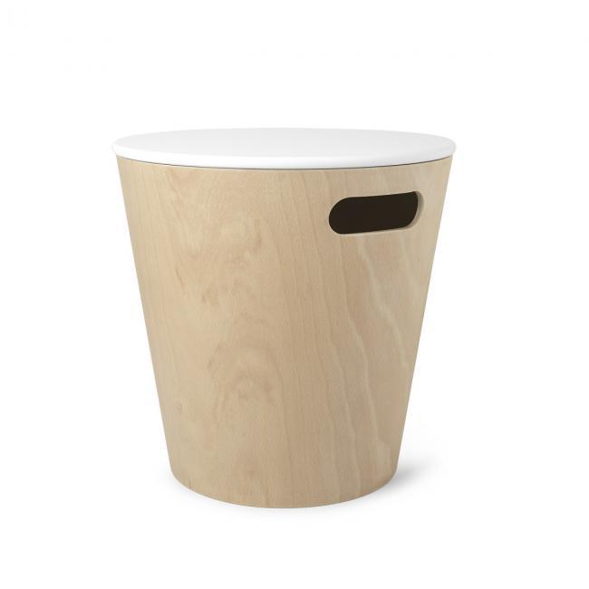 Stolik kawowy - kosz do przechowywania