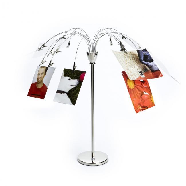 Ramka na obraz - stojak na zdjęcia - kolor srebrny