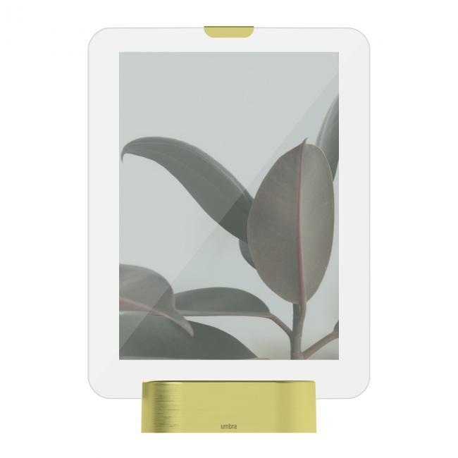Ramka na zdjęcie - podświetlana LED, kolor złoty
