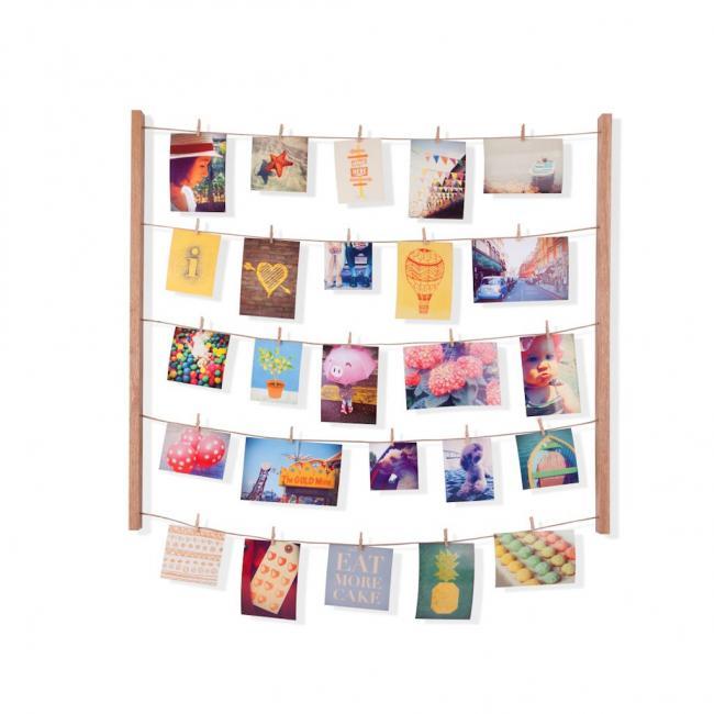 Ramka na obraz - zestaw do wieszania zdjęć - kolor naturalny