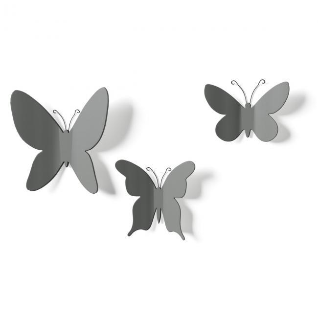 Motylki 3D - dekoracje na ścianę