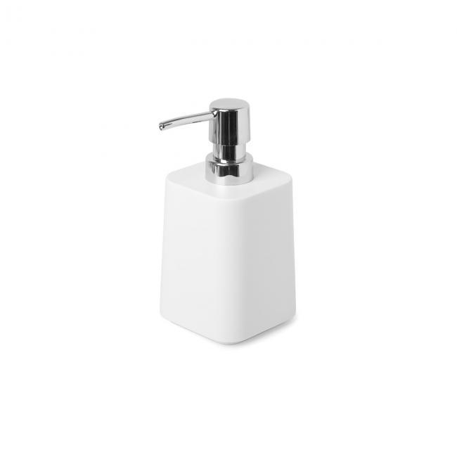 Dozownik na mydło, biały