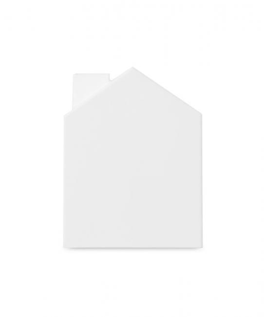 Pojemnik na chusteczki, biały