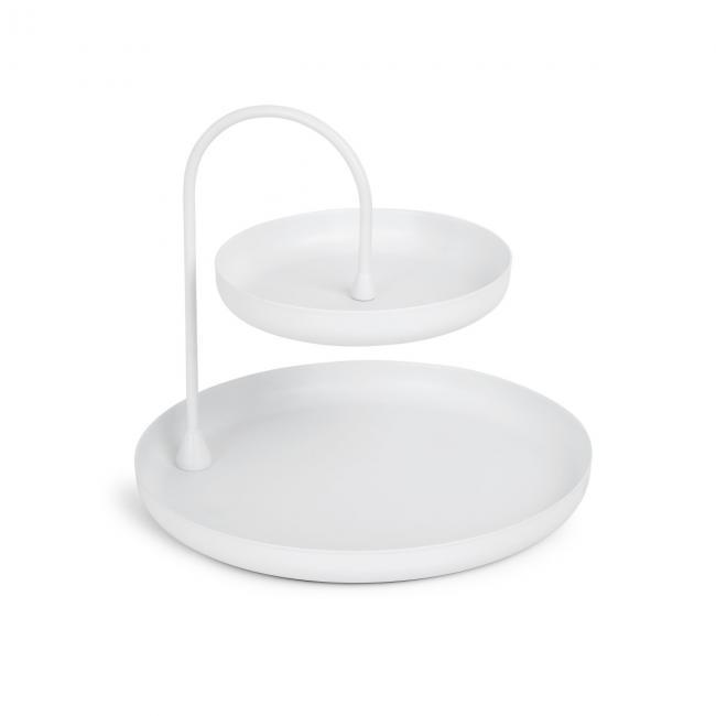 Umbra - Stojak na biżuterię Biały POISE
