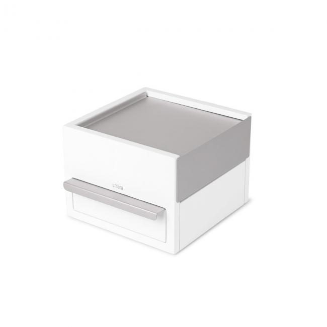 Stylowe Pudełko na biżuterię Małe STOWIT- białe