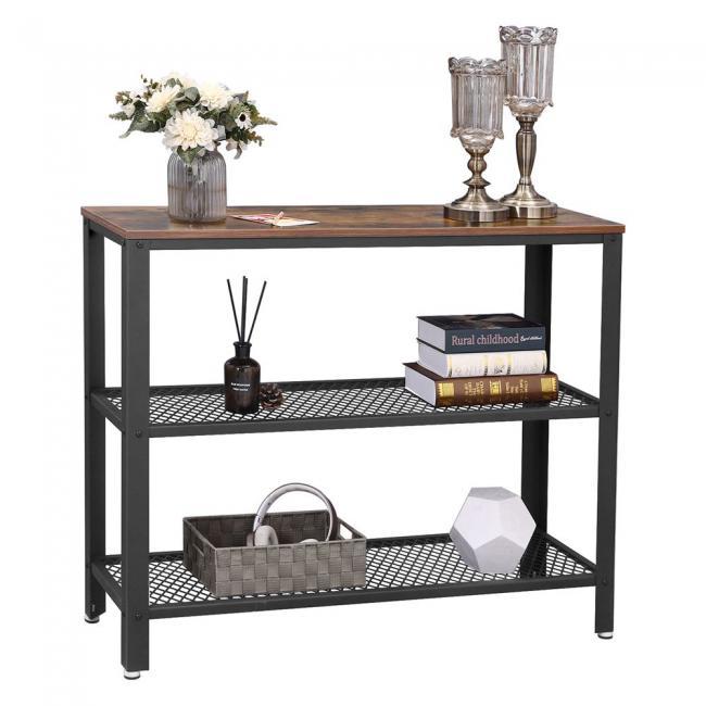 Regał metalowy/stolik LOFT