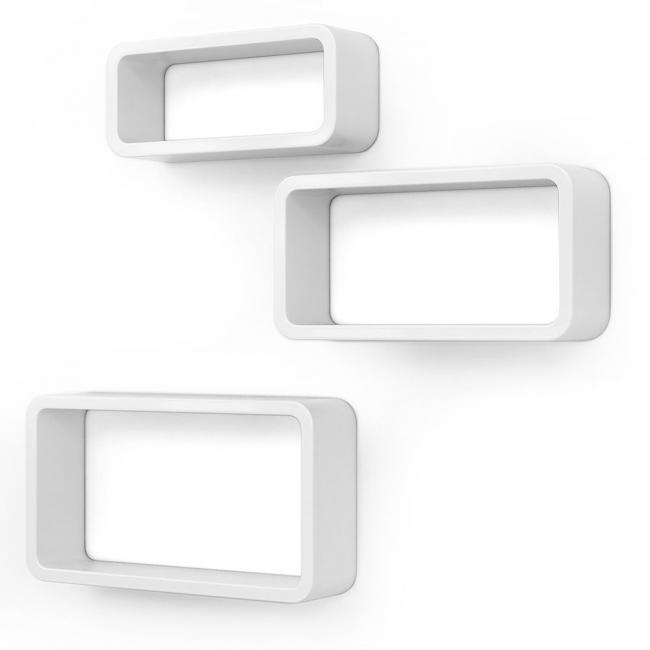 Półki białe - 3 sztuki