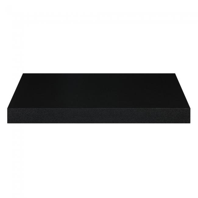 Półka ścienna czarna - 1 sztuka