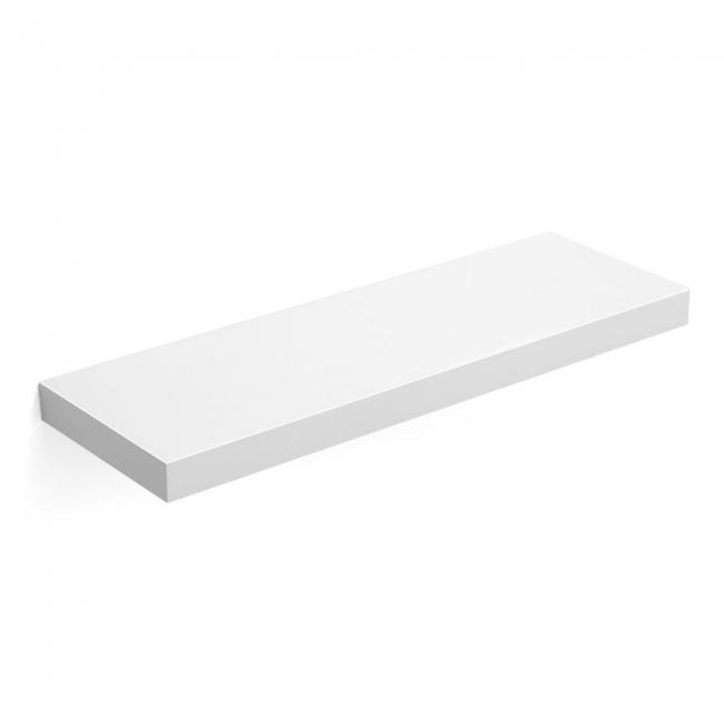 Półka ścienna biała - 1 sztuka