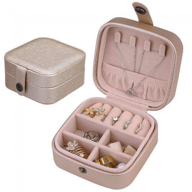 Pudełko na biżuterię- różowe