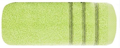 Ręcznik bawełna - wiskoza -50x90 - seledynowy