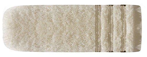 Ręcznik bawełna - wiskoza - 50x90cm - kremowy