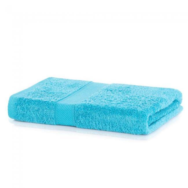 DecoKing - Ręcznik bawełna - wiskoza -70x140cm - turkusowy