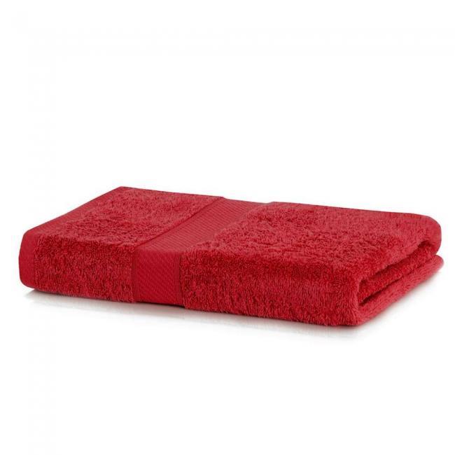 DecoKing - Ręcznik bawełna - wiskoza -70x140cm - bordowy