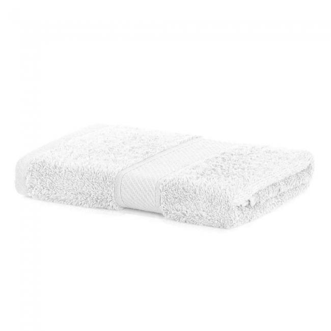 DecoKing - Ręcznik bawełna - wiskoza - 50x100 - biały