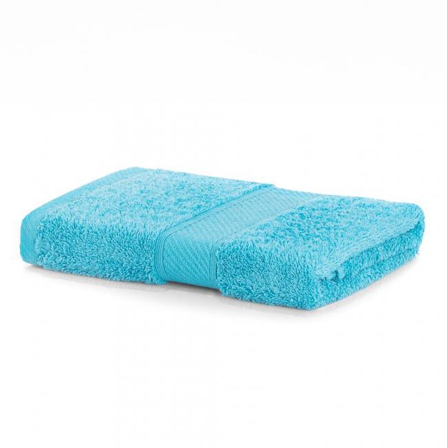 DecoKing - Ręcznik bawełna - wiskoza -50x100 - turkusowy