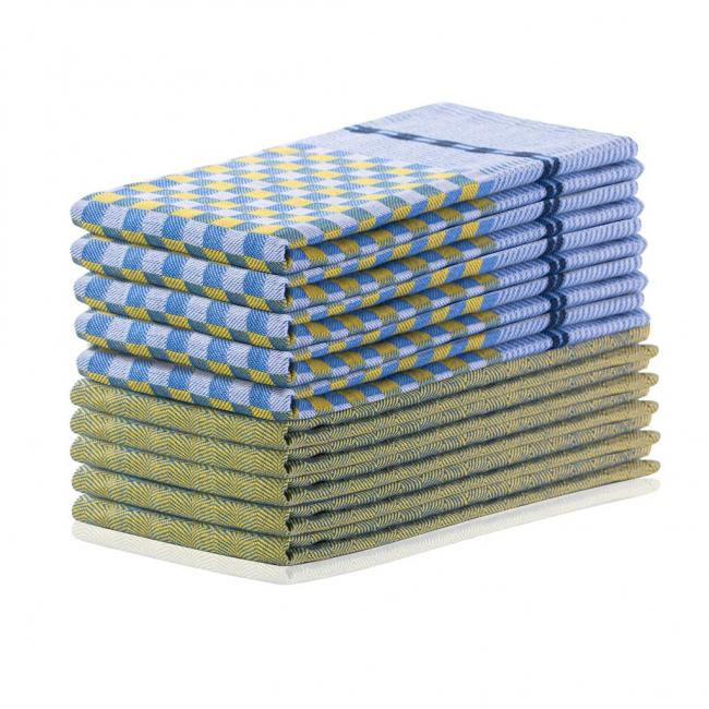 DecoKing - Zestaw ścierek kuchennych - 10 sztuk