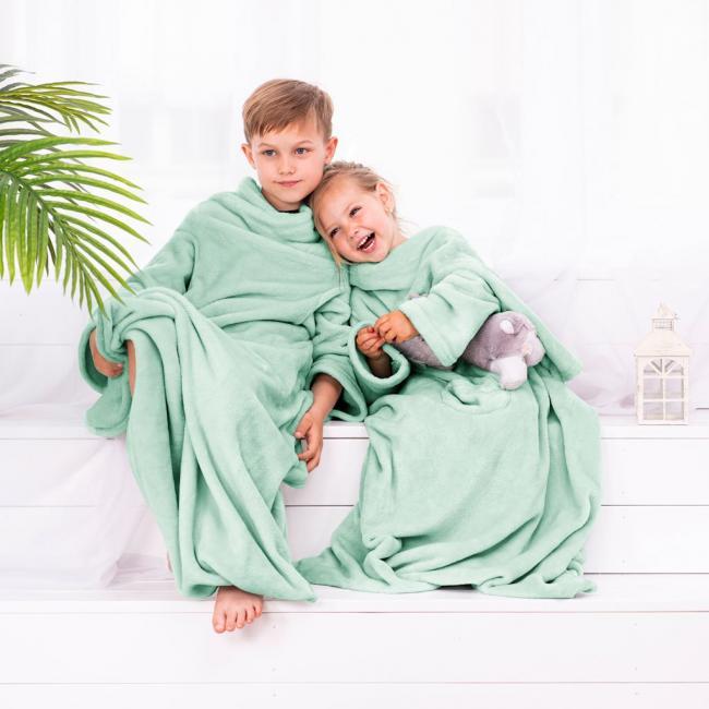 DecoKing - Koc z rękawami - dla dzieci